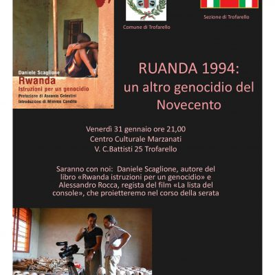 RUANDA 1994_ALL'ANPI DI TROFARELLO